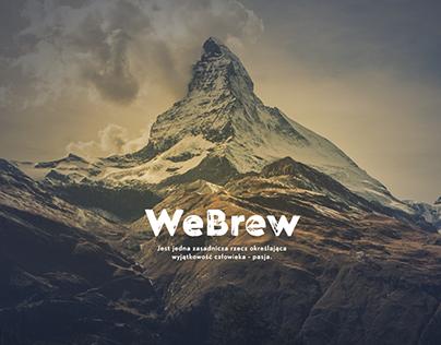Webrew coffee website