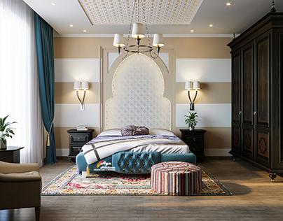 MOROCCAN ISLAMIC BEDROOM