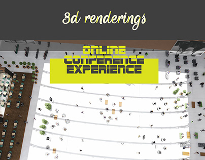 Online Conference Experience | 3D Design