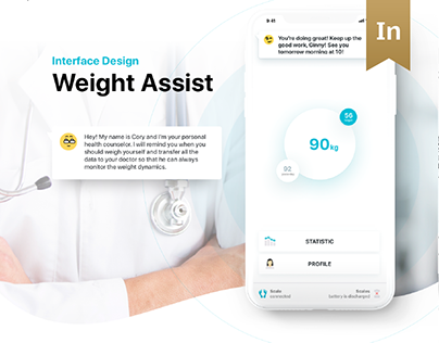 Weight Assist - healthcare mobile app for iOS