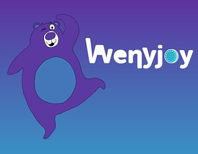 Wenyjoy App &Logo & Mascot Design