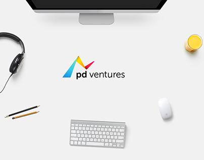 pd ventures – Logoentwicklung und Webdesign