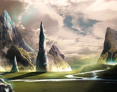 Picos (Matte Painting)