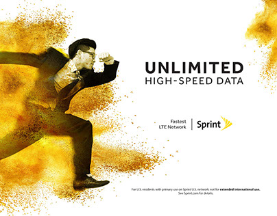 Sprint Campaign Art direction
