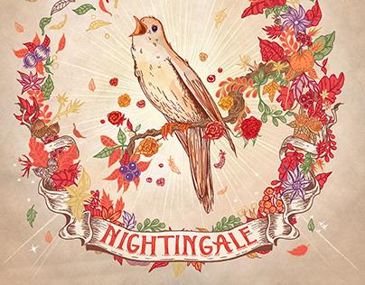 Nightingale (Jess DeLuca) // Album cover