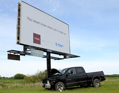 Thor Insurance and Registries Billboard