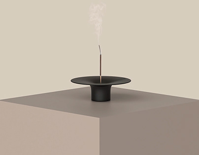 Ease- Incense and Candle light burner