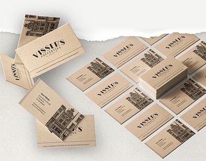 Vissers Poffertjes - Brand Identity Design
