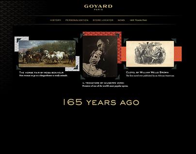 //Print&Website// Goyard