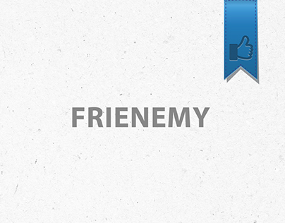 """Frienemy"" Logo Concept"