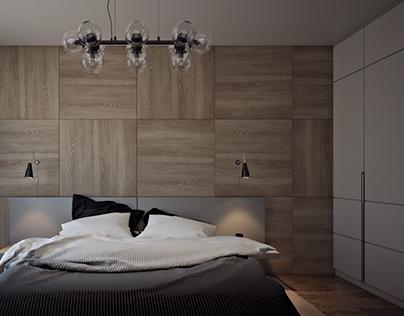 Apartments in Kiev. Bedroom