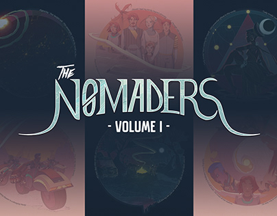 ILLUSTRATION - Nomaders Volume I - BOOKLET