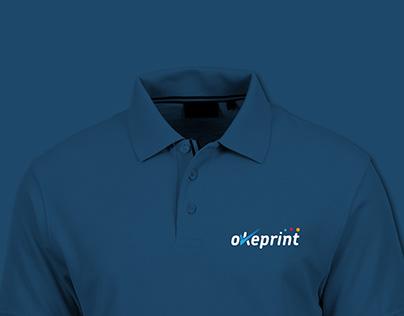 OkePrint Logo Branding