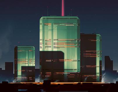 Jade Towers // Illustration