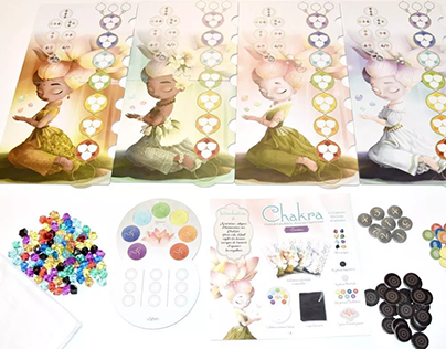 """Project """"Chakra"""" board game (with BLAM editions)"""