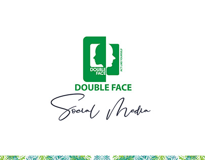 Double Face men fashion social media