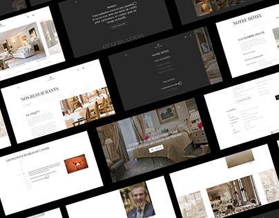 Four Seasons Paris — redesign concept