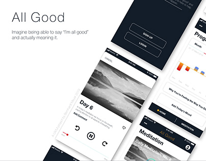 All Good - A UX/UI Project