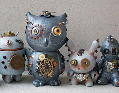 WHAM Steampunk Art Toys