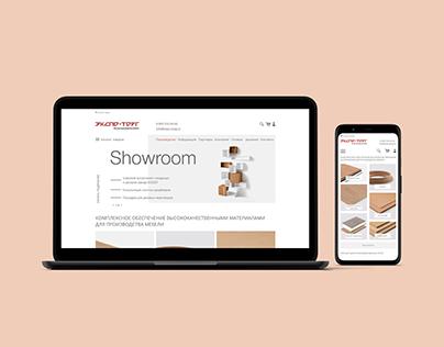 Expo-torg website design