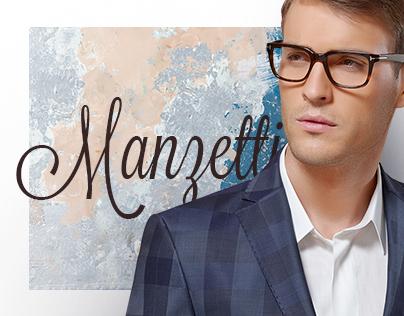 Manzetti. Italian brand of men's wear