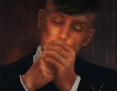 Thomas Shelby (Fan Art) Peaky Blinders