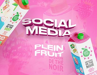 Social Media : Plein Fruit
