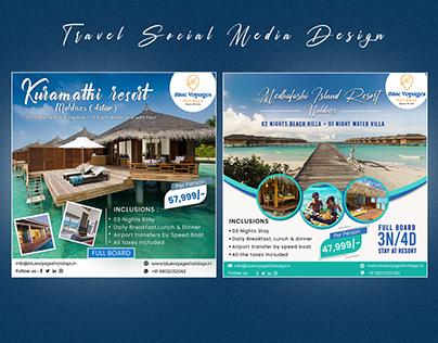 Travel Social Media Designtr