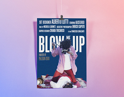 Blow me up - poster series
