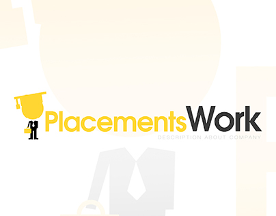 Placements Work Logo Concept
