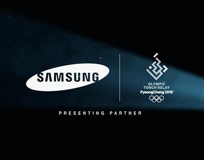 SAMSUNG - Torch Relay - PyeongChang 2018[WEARESOCIAL]