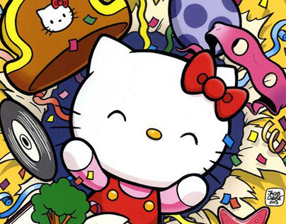 Hello Kitty children's Comic Book