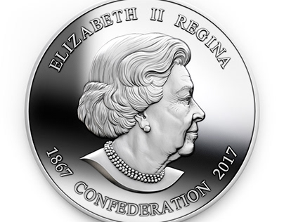 A model for a coin.