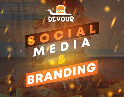 BEST Burger Branding & Social media Project ever