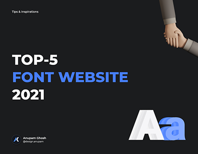 Top-5 Font Website 2021