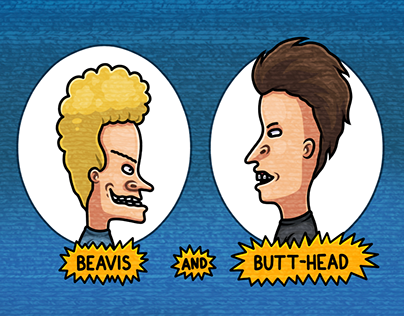 BEAVIS AND BUTT-HEAD. Telegram Stickers — 2018