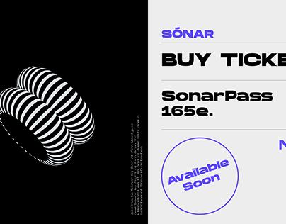 Fictitious Sonar Festival website