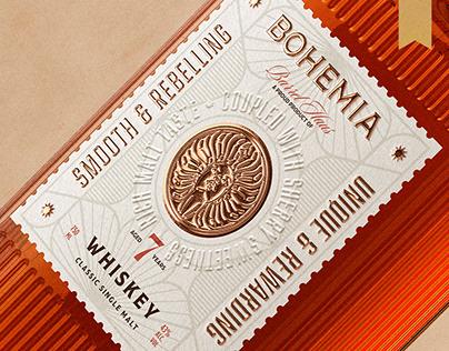 Bohemia Whiskey - Packaging Design