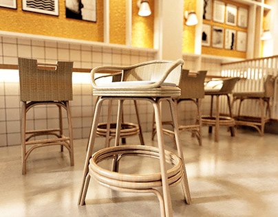 Rattan Chair Modelling