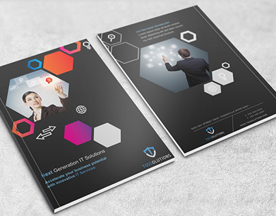 Brochure Design for an IT security company