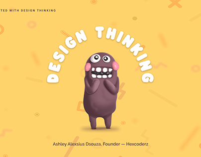 Design Thinking | Fall guys theme