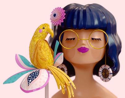 Tropical Girl 3D