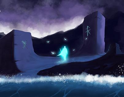 The savior's Return, my new illustration