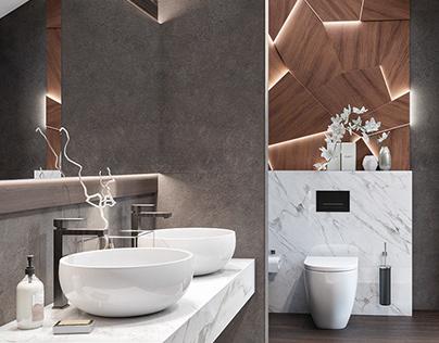 gentle bathroom. 8123-0