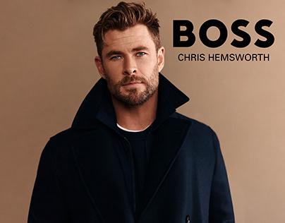 Hugo Boss Global Campaing Chris Hemsworth