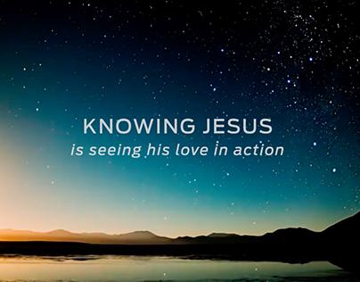 Knowing Jesus Promo Videos