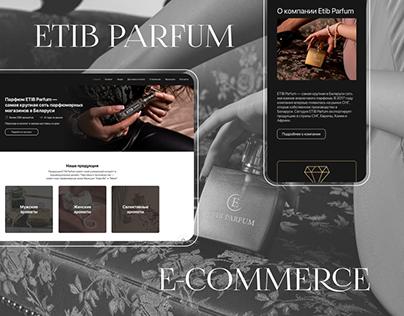 Интернет-магазин для Etib Parfum