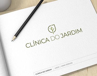 Clínica do Jardim (The Garden Clinic) Visual Identity