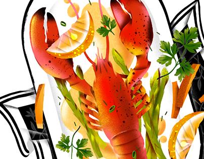 Menu Food Illustrations