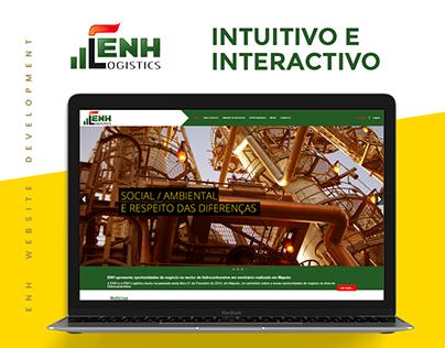 ENH LOGISTICS | Website Develpment 2013